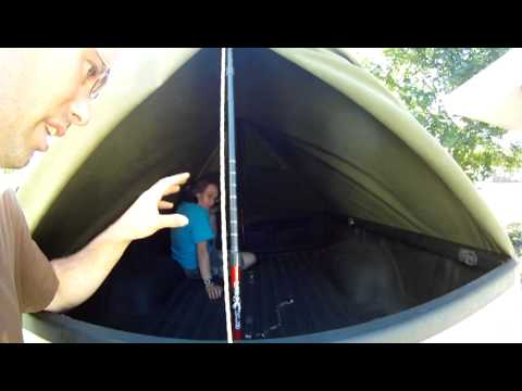Army PUP Tent in Truck Setup.MP4 & Army PUP Tent in Truck Setup.MP4 - YouTube
