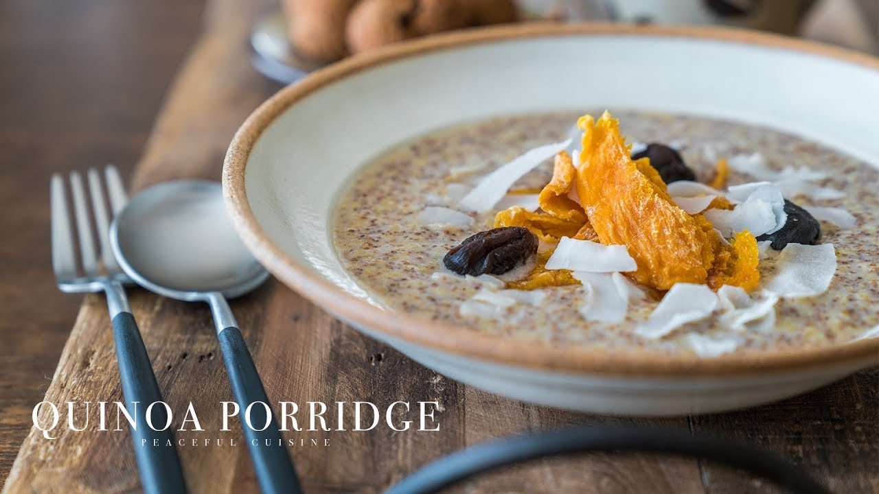 Quinoa Porridge (vegan) ☆ キヌアポリッジの作り方