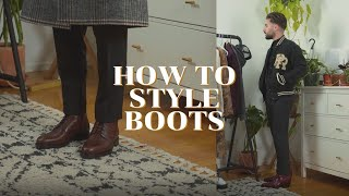 How to Style Boots This Fall Winter Season | 7 Ways to Style Boots