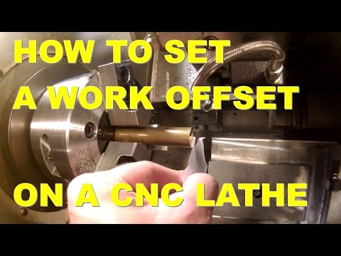 HOW TO SET A WORK OFFSET ON A CNC LATHE