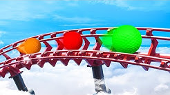 CRAZY ROLLERCOASTER GOLFCOURSE! (Golf It)