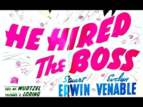 He hired the boss 1943 full movie