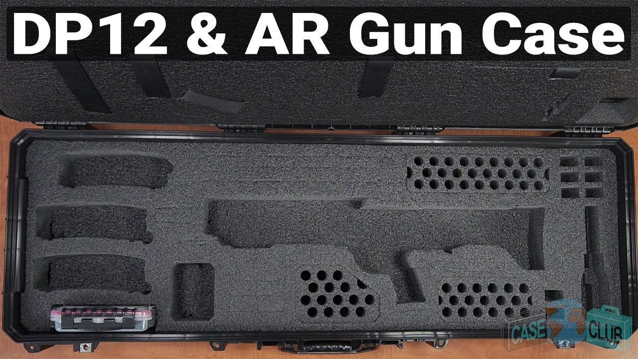 KSG or DP-12 & AR Gun Case - Video