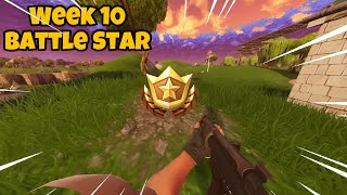 Search between a covered bridge, water fall and the 9th green || Week 10 Battle star