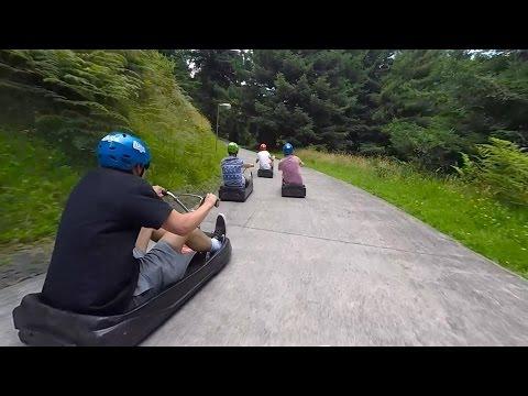 Skyline Luge - Rotorua, New Zealand [HD]