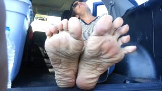 Smelly mature feet pov tease | fetish of the foot 2