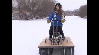 Житель Красноярского края мастерит самодельные вездеходы: тест-драйв одного из них