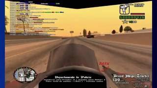 Gameplay GTA:SA:MP Jogando como Policial