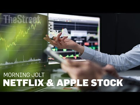 JOLT: Netflix and Apple Are Seeing Their Stock Prices Simply Go Haywire
