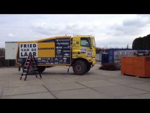 Dakartruck Fried van de Laar