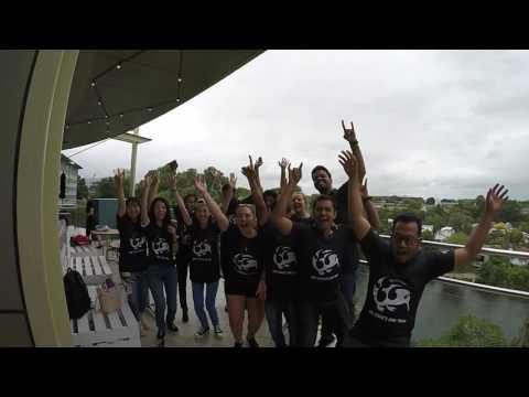 University Of Waikato - Bowling At Sky City, Hamilton, New Zealand