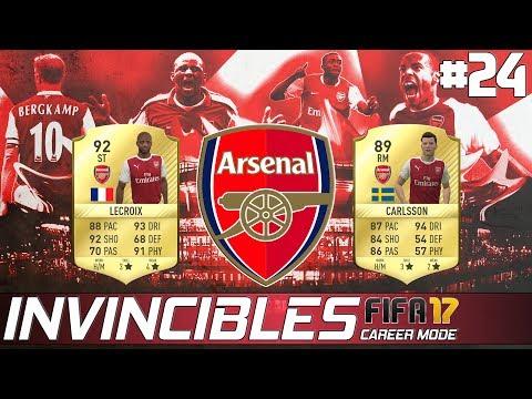 ARSENAL INVINCIBLES - FIFA 17 Career Mode - EP 24 - Game 23