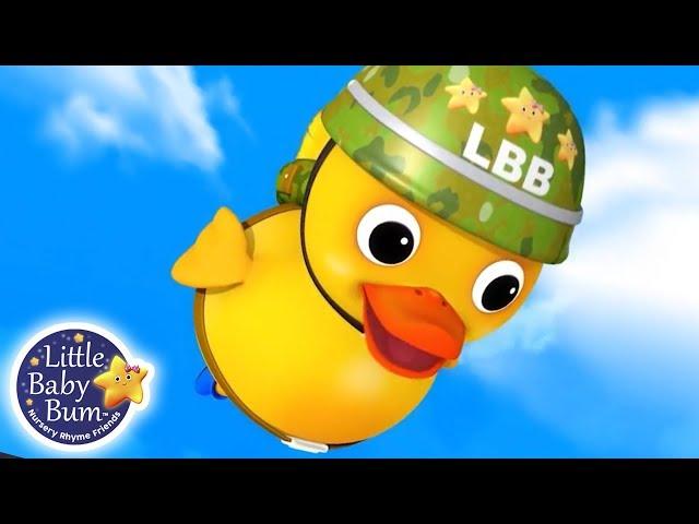Six Little Ducks | Nursery Rhymes for Babies | Songs For Kids | Little Baby Bum