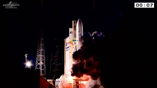 Ariane 5 flight VA227 liftoff replay