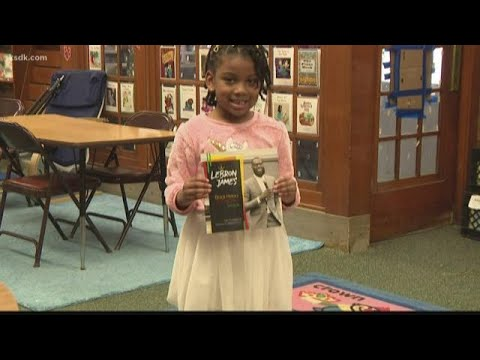 Local book by students at Wilkinson Early Childhood Center endorsed by LeBron James