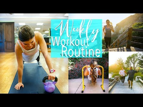 My Weekly Workout Routine | How I Stay Fit!