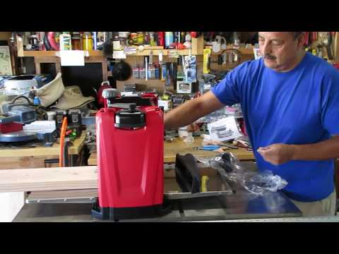 Harbor Freight Bauer Planer Review and Unboxing