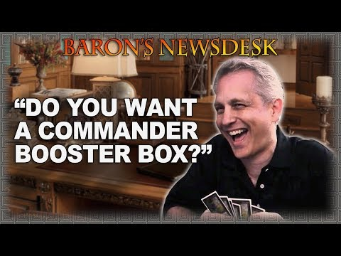 MTG Commander Booster Box being considered by Mark Rosewater