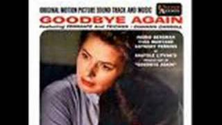 "Theme from movie ""Goodbye Again"""
