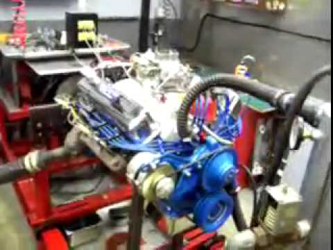 Ford 390 FE On The Dyno - Fastcoauto Video by James Deann