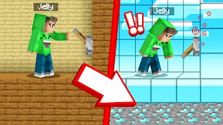 I Found A CHEATING LEVER In MINECRAFT! (Troll)