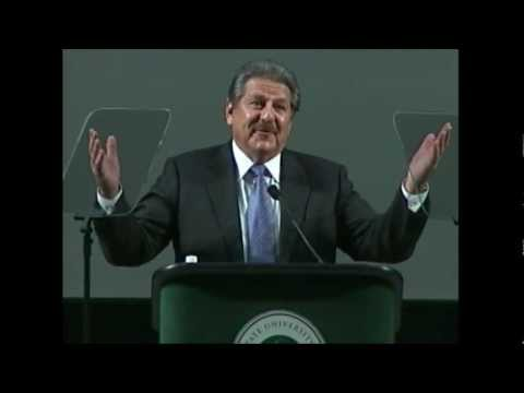 President Gonzalez' 2012  Fall Address
