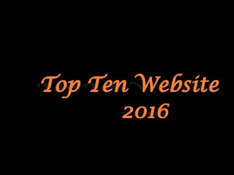 World Wide Top Ten Website - 2016