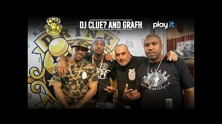 DRINK CHAMPS: Episode 43 w/ DJ Clue and Grafh   Talks Mixtape Beginnings, Radio Career, + more