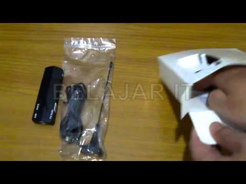 Unboxing USB Stick Tv Tuner Gadmei 380