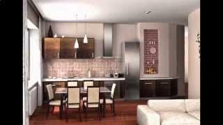 видео Дизайн малогабаритной однокомнатной квартиры – максимальный комфорт и уют