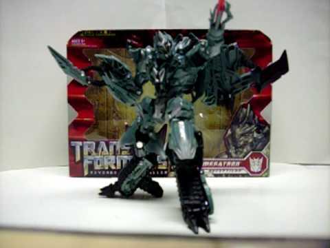 Transformers Revenge of the Fallen Voyager Megatron - YouTube