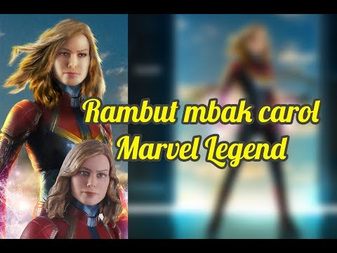 [Toys Photography #13] Quick Tutorial Hair  Smudge  Marvel Legend Captain Marvel thumbnail