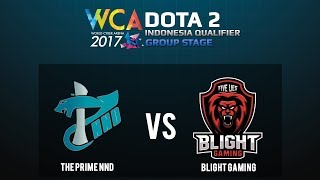 Dota 2 : TP.NND vs Blight.G @WCA Indonesia Group Stage