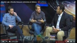 El lobby LGBT promueve la pedofilia: Nicolás Márquez y Agustín Laje en la TV de México