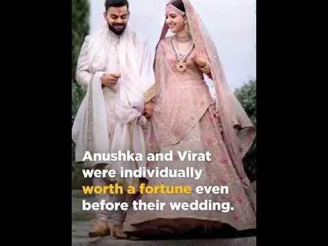 Virat kohli and anushka sharma total earnings