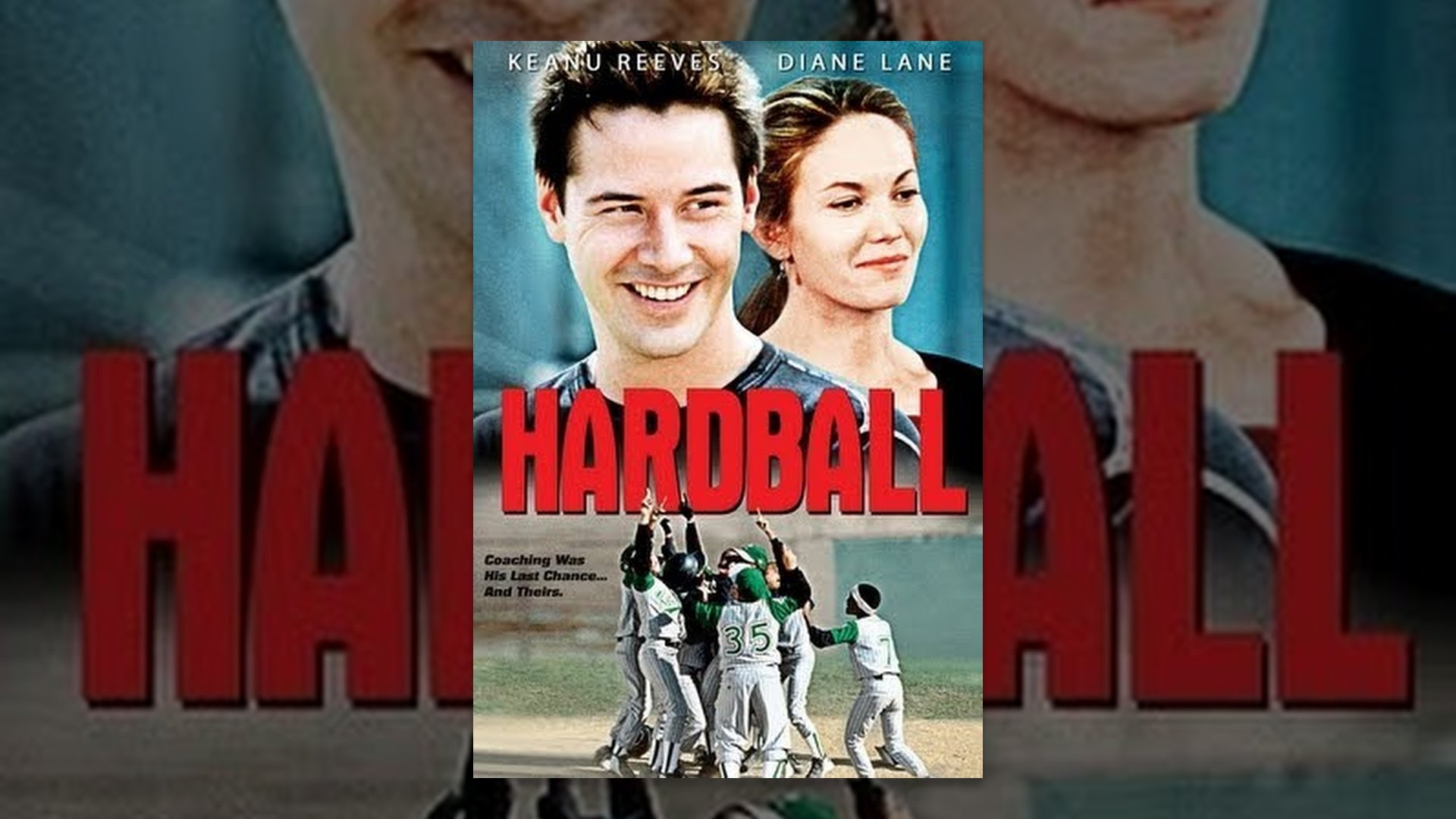 "movie review hard ball T he word ""hardball"" has long been associated with the word ""tough"" the idea that life is coming at you fast and it is not going to be easy ""hardball"" is a movie that tries to be tough."