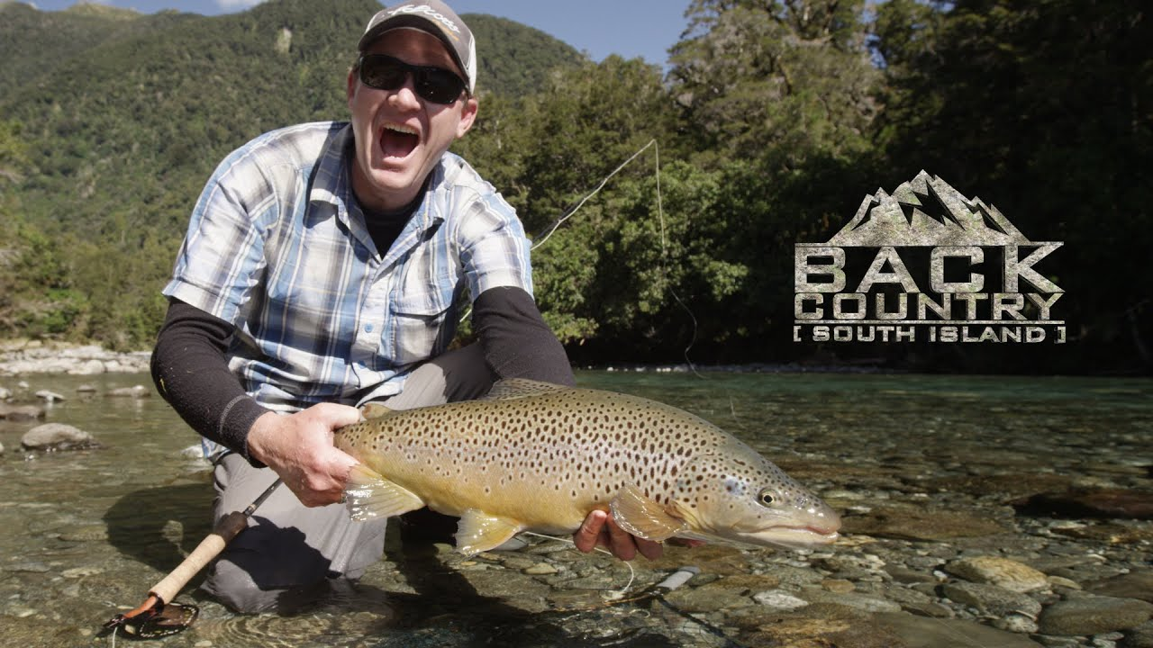 Fly fish nz backcountry south island trailer youtube for Backcountry fly fishing