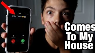 PRANK CALLING A KILLER CLOWN GOES WRONG! *HE COMES TO MY HOUSE*(, 2016-10-22T19:44:11.000Z)