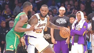 Lakers vs Celtics Wild End Of Final Minutes With Refs Ruining The Game! Lakers vs Celtics