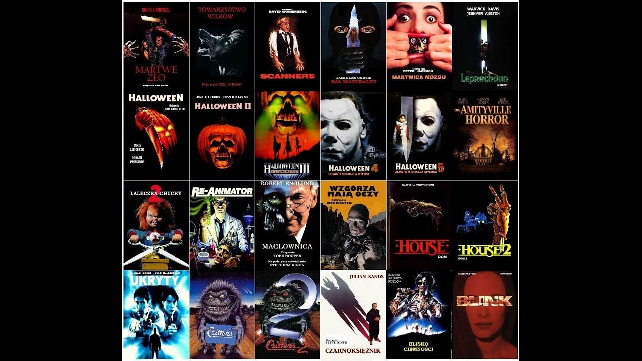 horror movie poster collection youtube