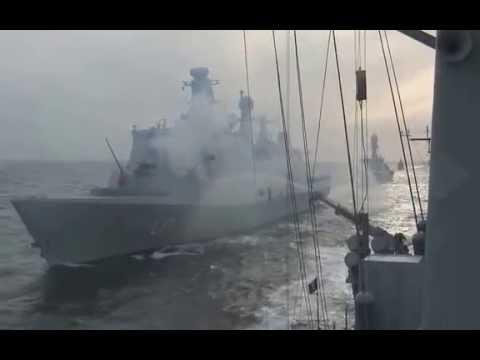 Last days of HDMS Peter Tordenskiold