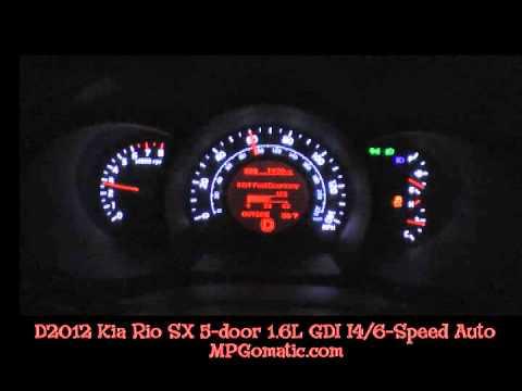 2012 Kia Rio 0-60 MPH