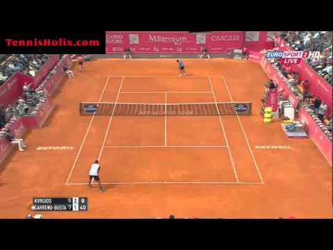 ATP Estoril 2015 - SF N.Kyrgios vs P.Carreno-Busta Highlights