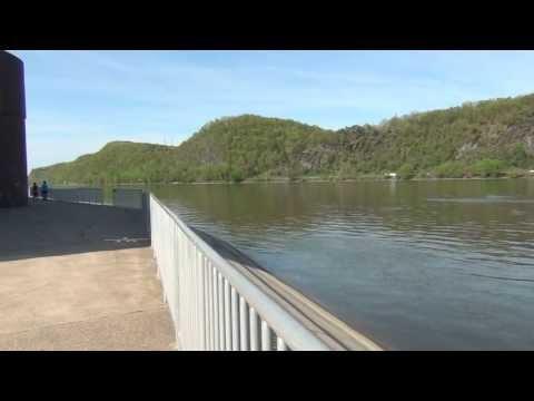 Shikellamy Marina and the Susquehanna River