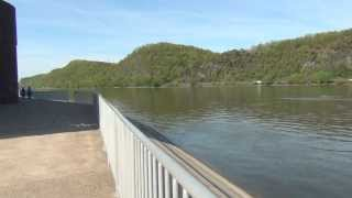 Shikellamy Marina and the Susquehanna River