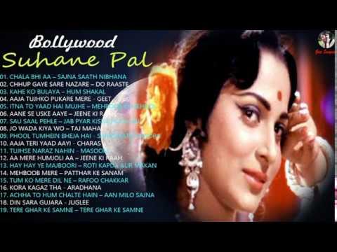 Download Suhane Pal | Bollywood Old Songs | Evergreen Old Songs | Lata Mangeshkar, Mohd. Rafi, Kishore Kumar