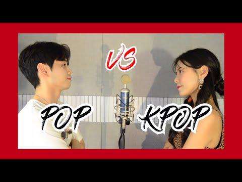 똑같은 반주에 Pop + Kpop 부르기 Sing off (Feat. BTS, 트와이스, Ariana Grande, Billie Eilish...)