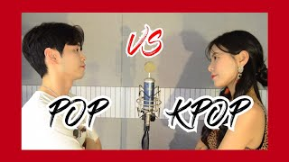 똑같은 반주에 Pop + Kpop 부르기 Sing off (Feat. BTS, 트와이스, Ariana Grande, Billie Eilish...) Video
