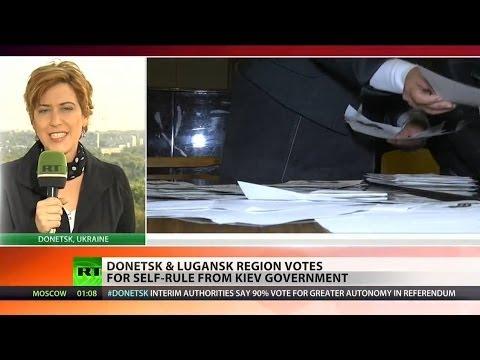 Donetsk and Lugansk declare independence from Ukraine