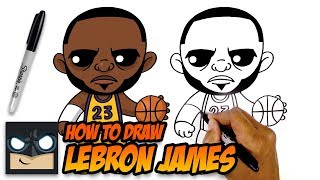 How to Draw Lebron James | Step-by-Step Tutorial